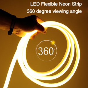 360degree round anyview RGB SMD neon strip light