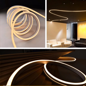 Flat surface led neon strip light